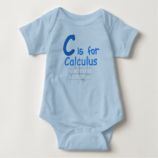 C is for Calculus Baby Bodysuit