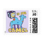 C is for Camel Postage Stamps