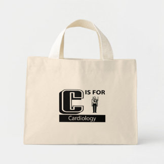 C Is For Cardiology Tote Bag