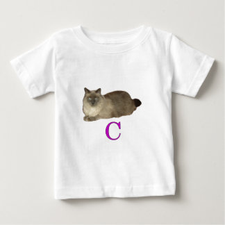 C is for Cat Baby T-Shirt