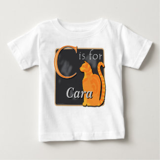 C Is For Cat C Is For Cara Baby T-Shirt