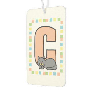 C is for Cat Car Air Freshener