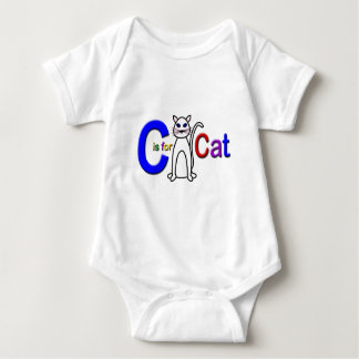 C is for Cat Infant Creeper