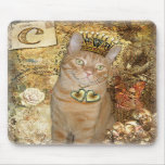 C is for Cat - Tabby Cat Mousepad