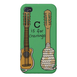 C is for Charango Cases For iPhone 4