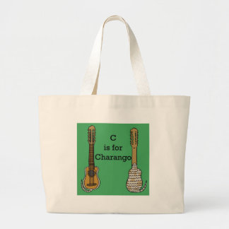C is for Charango Large Tote Bag