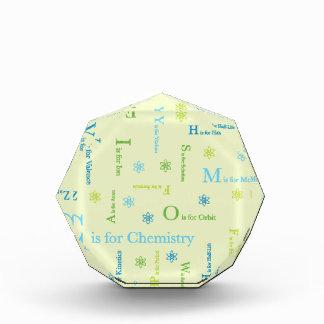 C is for Chemistry Acrylic Award