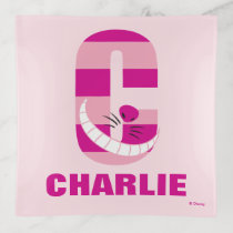 C is for Cheshire Cat | Add Your Name Trinket Trays