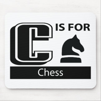 C Is For Chess Mouse Mat