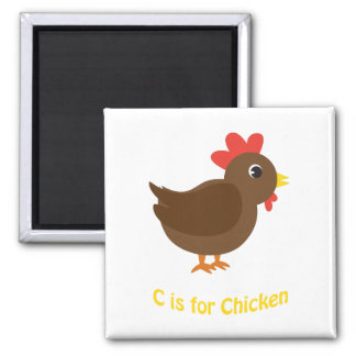 C is for Chicken Magnet