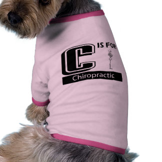 C Is For Chiropractic Dog Clothes