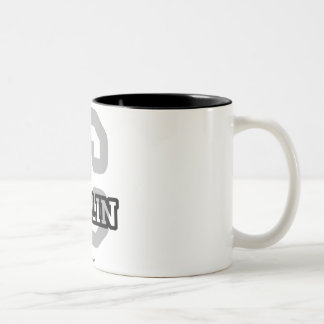 C is for Collin Two-Tone Coffee Mug