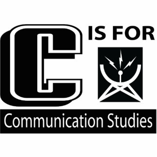 C Is For Communication Studies Photo Cut Out