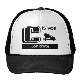 C Is For Concrete Hats