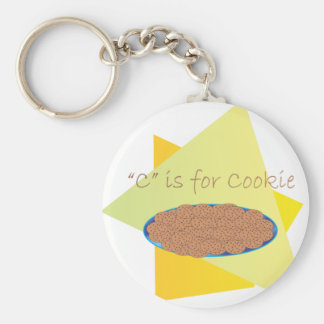 C is for Cookie Keychain