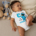 """C is for Cookie Monster   Add Your Name Baby Bodysuit<br><div class=""""desc"""">Personalize this fun Cookie Monster design by adding your name and first letter. © 2014 Sesame Workshop. www.sesamestreet.org</div>"""
