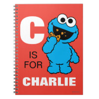 C is for Cookie Monster | Add Your Name Notebook