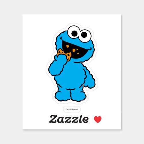 C is for Cookie Monster  Add Your Name Sticker