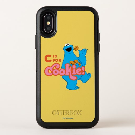 C is for Cookie OtterBox Symmetry iPhone X Case