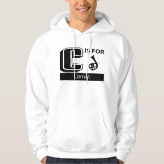 C Is For Cornet Sweatshirt
