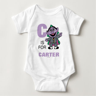 C is for Count von Count Infant Creeper