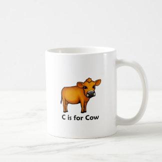 C is for Cow Coffee Mug