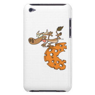 c is for cow funny moo cow cartoon character Case-Mate iPod touch case