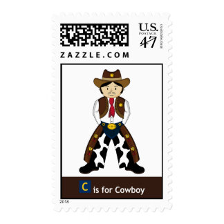 C is for Cowboy Postage