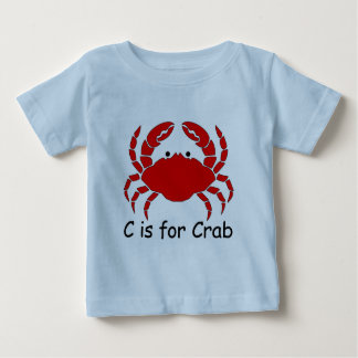C is for Crab Baby T-Shirt