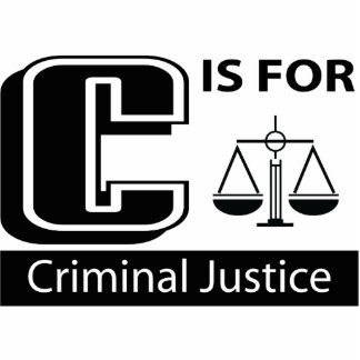 C Is For Criminal Justice Photo Cutouts