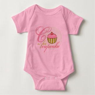 C Is For Cupcake Infant Bodysuit