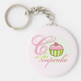 C Is For Cupcake Keychain