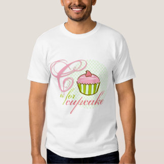 C Is For Cupcake Kids T-shirt