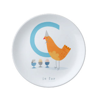 C is for... dinner plate
