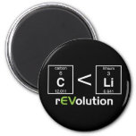 C is less than Li 2 Inch Round Magnet
