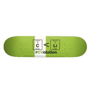 C is less than Li Custom Skateboard