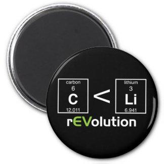 C is less than Li Refrigerator Magnet