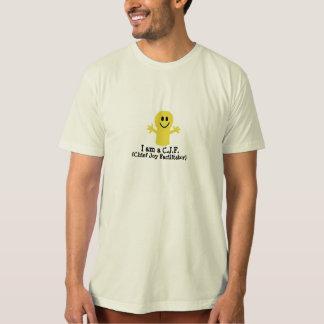 C.J.F. (Chief Joy Facilitator) Organic T-shirt