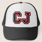 C J Monogram Trucker Hat