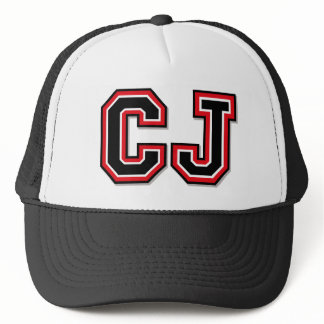 C J Monogram Trucker Hat