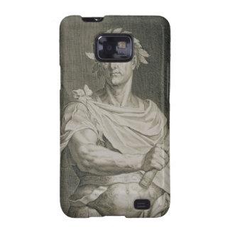 C. Julius Caesar (100-44 BC) Emperor of Rome engra Galaxy S2 Cover