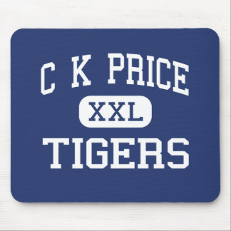 C K Price Tigers Middle Orland California Mouse Pad