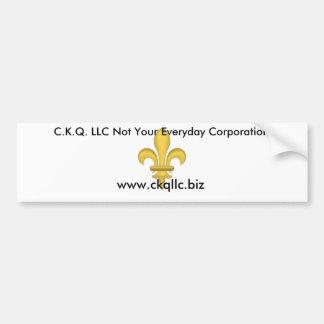 C.K.Q. LLC PEGATINA PARA AUTO