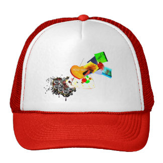 C.L.R.: Dont Forget RHe PIZZA and BEER HAT