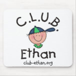 C.L.U.B. Cojín de ratón de Ethan Alfombrillas De Raton