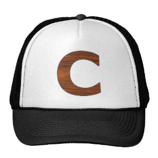 C - letter trucker hat