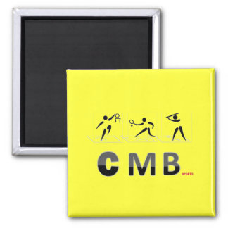 C.M.B. 2 INCH SQUARE MAGNET