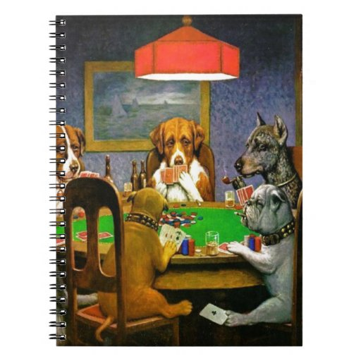 C.M. Coolidge Dogs acaricia destino del humor de l Libretas