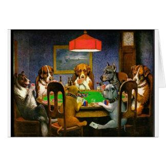 C.M. Coolidge Dogs acaricia destino del humor de l Felicitaciones