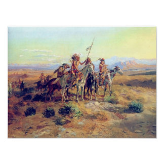 C M Russell The Scouts Fine Art Print